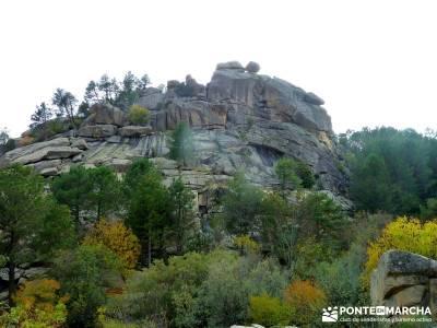 La Pedriza - Collado del Cabrón - Charca Verde_ caminatas por la sierra de madrid;nacimiento rio cu